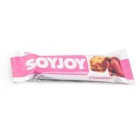 Soyjoy Fruit Soy Bar Strawberry 30gr - Snack Kedelai Soy Joy Stroberi