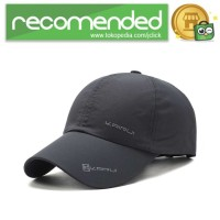KAIRUI Topi Baseball Visor Sport Fashion Hat - MZ237 / Gray