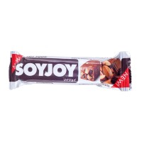 Soyjoy Fruit Soy Bar Almond and Chocolate 30gr - Snack Kedelai Cokelat