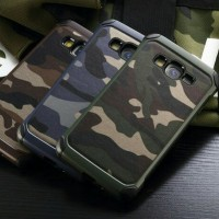 Case Army Samsung J2 Prime Hard Case Casing Military - Camouflage