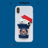 Casing 3D Snoopy Motif Kartun Case Samsung A10 A20 E A30 S A40 A50