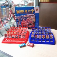 ✨☞ Who Is It Classic Board Game Funny Family Guessing Games Kids