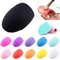 24Pcs Brush Makeup + Spons Beauty Blender + Silispons + Egg Scrub