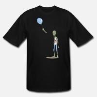Kaos Zombie Balloon Funny Zombies T-Shirt
