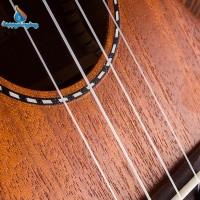 4Pcs / Set Senar Nylon Putih Pengganti untuk Gitar Ukulele 21 / 23 /