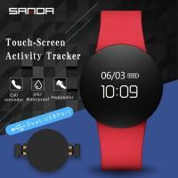 Sanda sd3 Smartwatch Digital Sport Fungsi Bluetooth / Pedometer /