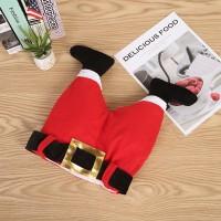 Topi Santa Claus Warna Merah untuk Anak / Dewasa