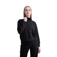 Baju Olahraga Panjang, Fitflo Activewear, Briana Sweater Hitam