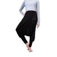 Celana olahraga, Fitflo Activewear, Tencel, Esme Harem Pants Hitam