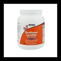 Flash Sale Now Foods Sunflower Lecithin Pure Powder 1 Lb (454 G)