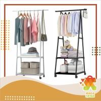 NA Triangle Stand Hanger / Rak Pakaian / Rak Baju / Rak Serbaguna
