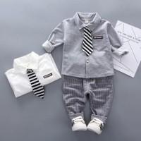 Baju setelan anak import 0116 SETELAN BAJU PESTA ANAK LAKI Limited