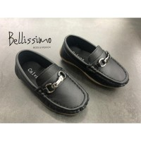 Sepatu Pantofel Anak Laki-laki BSM-2.3 - 31, Hitam