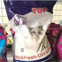 Top Cat Litter 5 liter (Pasir Kucing Gumpal Bentonite)