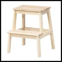 Bekvam Bangku Tangga 2 Step Kayu Aspen Ikea Wooden Step Stool