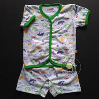 MOMME Setelan Baju Pendek dan Celana Pendek Bayi ( Newborn ) - 1 set