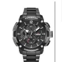 Jam tangan pria Expedition E 6781 E6781 black grey