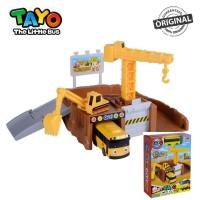 Original Tayo The Little Bus Tayo City Construction Site Playset Lani