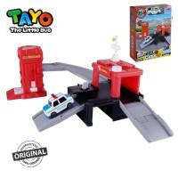Original Tayo The Little Bus Tayo City Fire Station Playset Pat