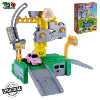 Original Tayo The Little Bus Tayo City Recycle Center Playset Heart