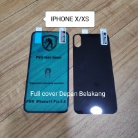 IPhone X Anti Gores Polymer Nano Full Cover