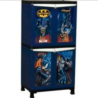 Lemari Plastik Napolly Batman 242 Container 4 Pintu BMAN