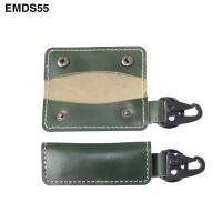 Dompet STNK Mobil Motor kulit asli - Gantungan Kunci Carabiner EMDS55