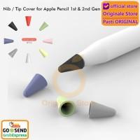 Apple Pencil 1st 2nd Gen Nib Tip Cover Soft Case - Mix 8 Colors