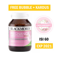 Blackmores Pregnancy & Breastfeeding Gold isi 60 tablet BPOM Kalbe
