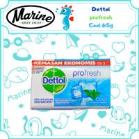 Dettol Cool Anti Bakteri Sabun Batang 65 gr