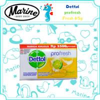Dettol Fresh Anti Bakteri Sabun Batang 65 gr