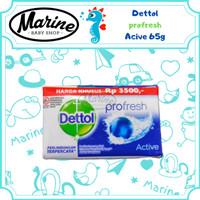 Dettol Active Anti Bakteri Sabun Batang 65 gr