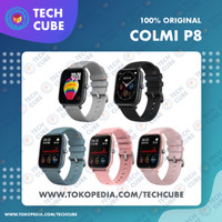 COLMI P8 Smartwatch Heart Rate Blood Pressure Sport Mirip Amazfit GTS