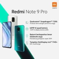 Xiaomi Redmi Note 9 Pro Ram 6/64gb Garansi Resmi Xiaomi Indonesia/TAM