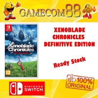 Xenoblade Chronicles Definitive Edition Game Nintendo Switch