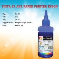 Tinta Refill Isi Ulang Printer Artpaper Epson Art Paper Ink - F1 biru