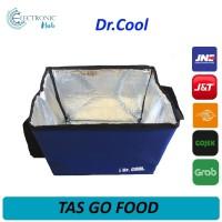 Tas Aluminium Go Food Dr Cool 40x30x30cm Pendingin Penyimpan Es Bekal