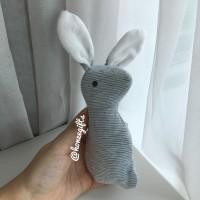 Baby Rattle Bunny Rabbit Mainan Genggam Bayi Boneka Plush Toy Lembut