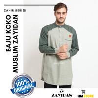 Baju Koko Dewasa Kurta Kemko Gamis Muslim Pria Zayidan Zahir Mint