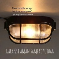 Lampu Dinding hias waterproof outdoor anti air fiting e27
