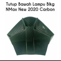 ducktail cover bawah lampu new nmax 2020 carbon