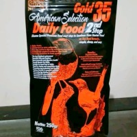 AMS GOLD 35 2ND STEP AMERICAN SELECTION VOER/PUR KASAR 250GR