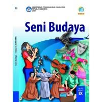 BEST SELLER SENI BUDAYA 9 DIKNAS UNTUK SMP KUR 2013 EDISI REVISI 2017