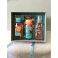 Bath and Body Works Gift Set Box Pretty as A Peach