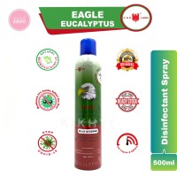 Caplang Disinfektan Eagle Eucalyptus Disinfectan Spray Jumbo 500 ml