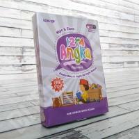 Flashcard 123 Angka - KONSEP Wipe & Clean Kartu Pintar Mainan Edukasi