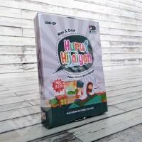 Flashcard Huruf Hijaiyah KONSEP Wipe & Clean Mainan Kartu Pintar Anak