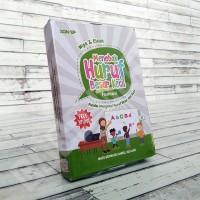 Flashcard Menebak Huruf Besar Kecil - KONSEP Wipe & Clean Kartu Pintar