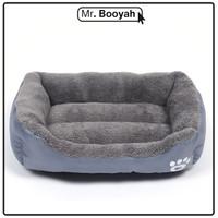 Tempat Tidur Anjing Ultra Soft - Abu