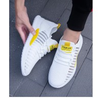 Sepatu Sneaker Olahraga Pria Import FlyKnit LRG Running Shoes